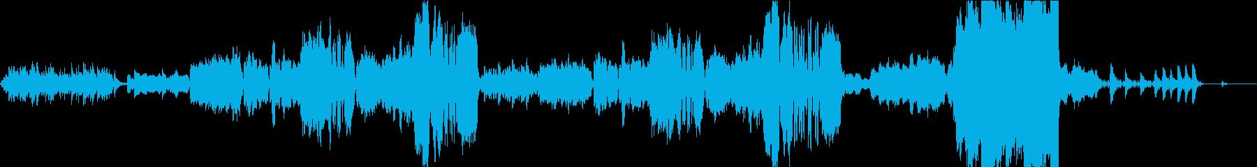 童話のエンディングを想定したオーケストラの再生済みの波形
