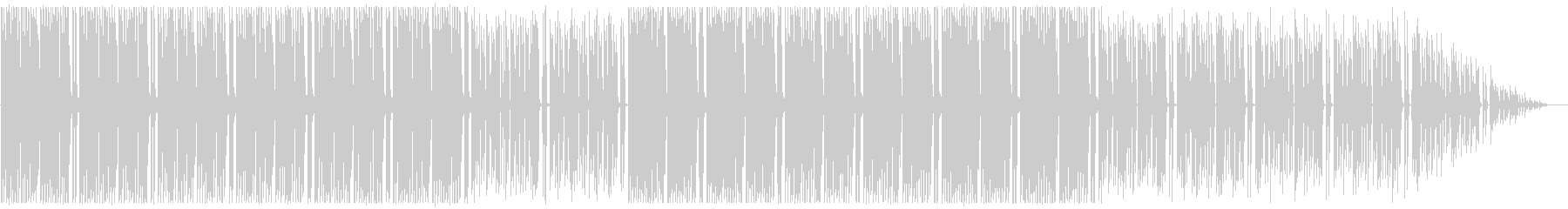 心がホップする軽快な音楽の未再生の波形