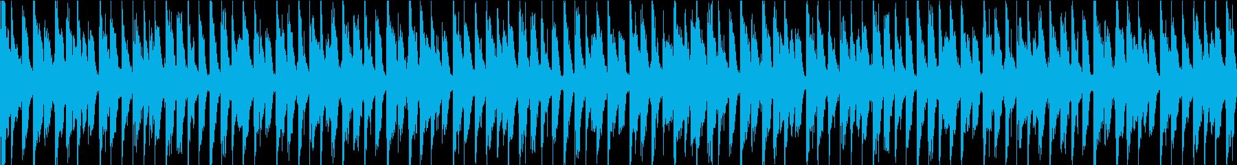 クールなロードとピアノのパートが入...の再生済みの波形