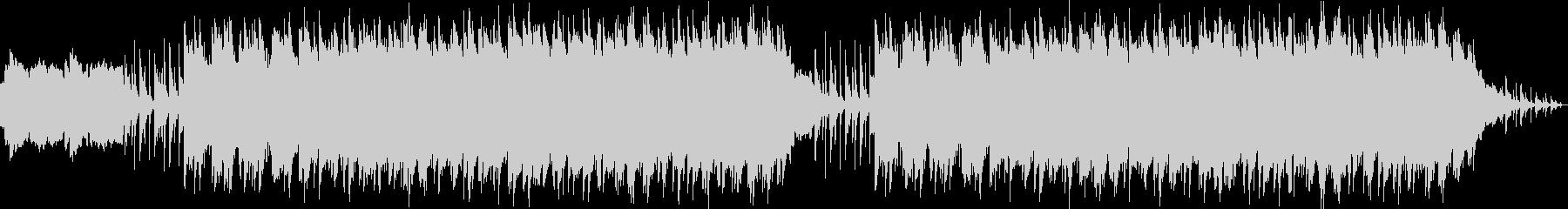 ファンタジーRPGの廃墟をイメージした曲の未再生の波形