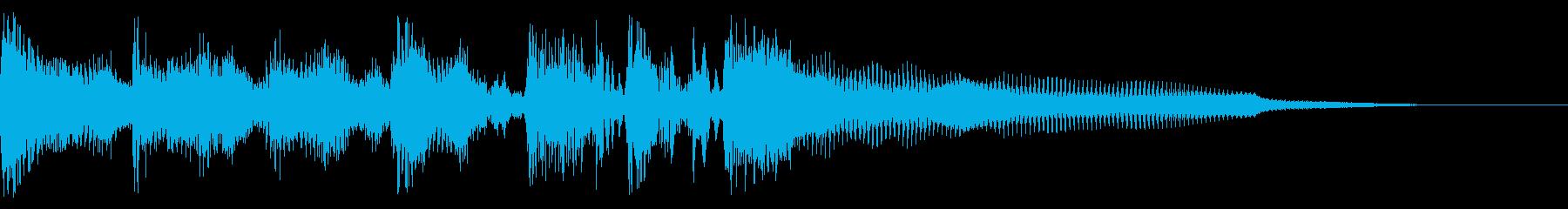 バーナードセグ2の再生済みの波形