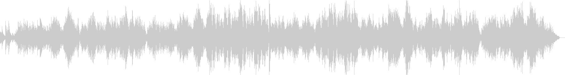 サティのピアノ曲 「ジュ・トゥ・ヴー」の未再生の波形