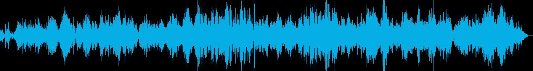 サティのピアノ曲 「ジュ・トゥ・ヴー」の再生済みの波形