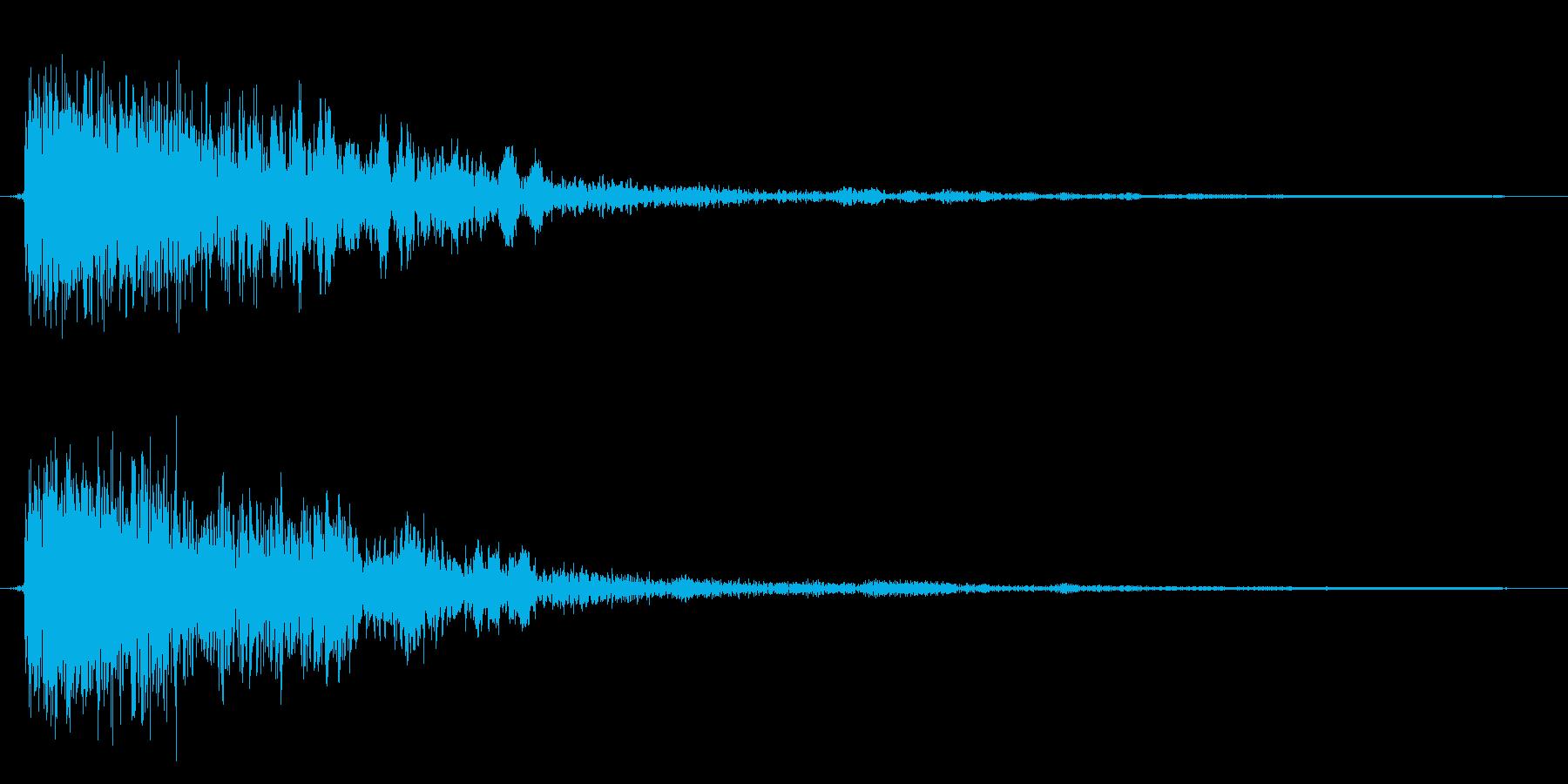 コミカルなダッシュ!ジャンプ効果音!09の再生済みの波形