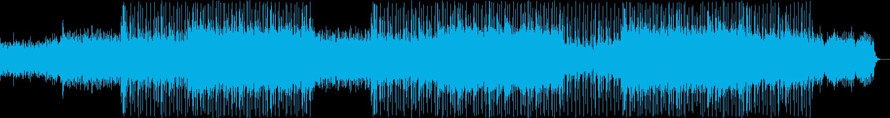 EDM映画やアニメのシリアスな映像向けの再生済みの波形