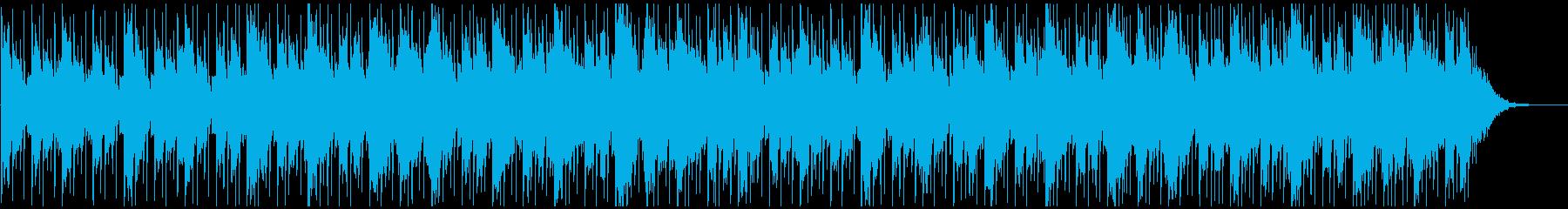 ニューエイジ系BGM(ブレイクなし)の再生済みの波形
