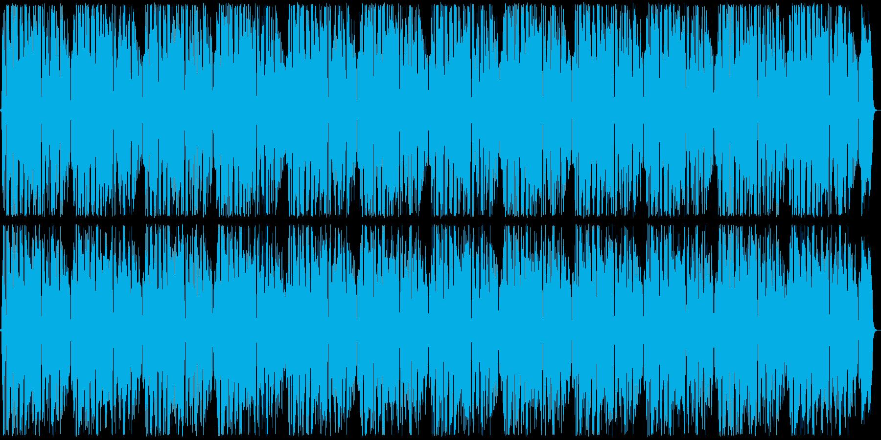 爽やかな雰囲気のアカペラ ループの再生済みの波形