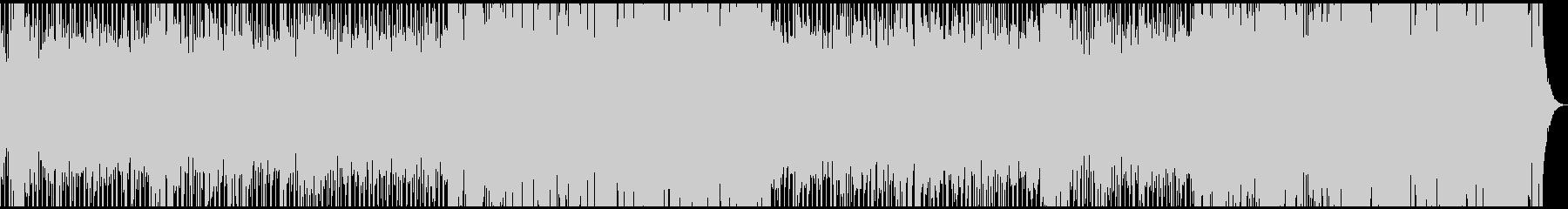 ホーンとストリングスの派手なディスコの未再生の波形