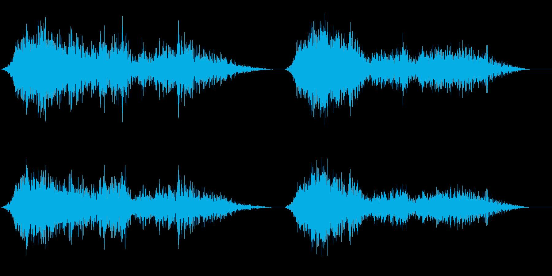 メタルクリーク;不気味な遠近感、リ...の再生済みの波形