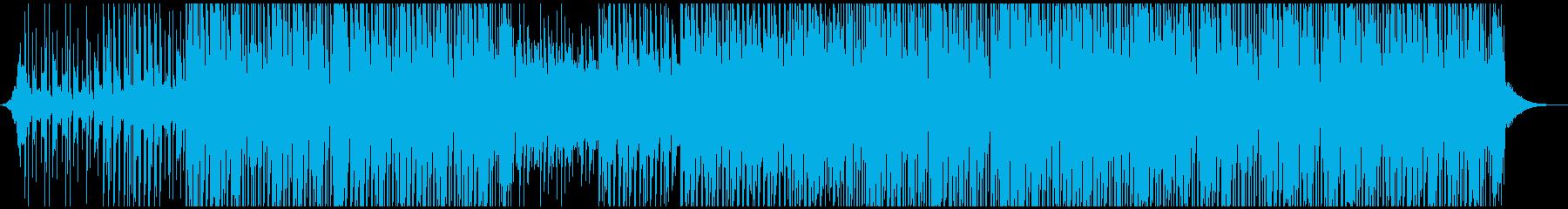トロピカルポップの再生済みの波形