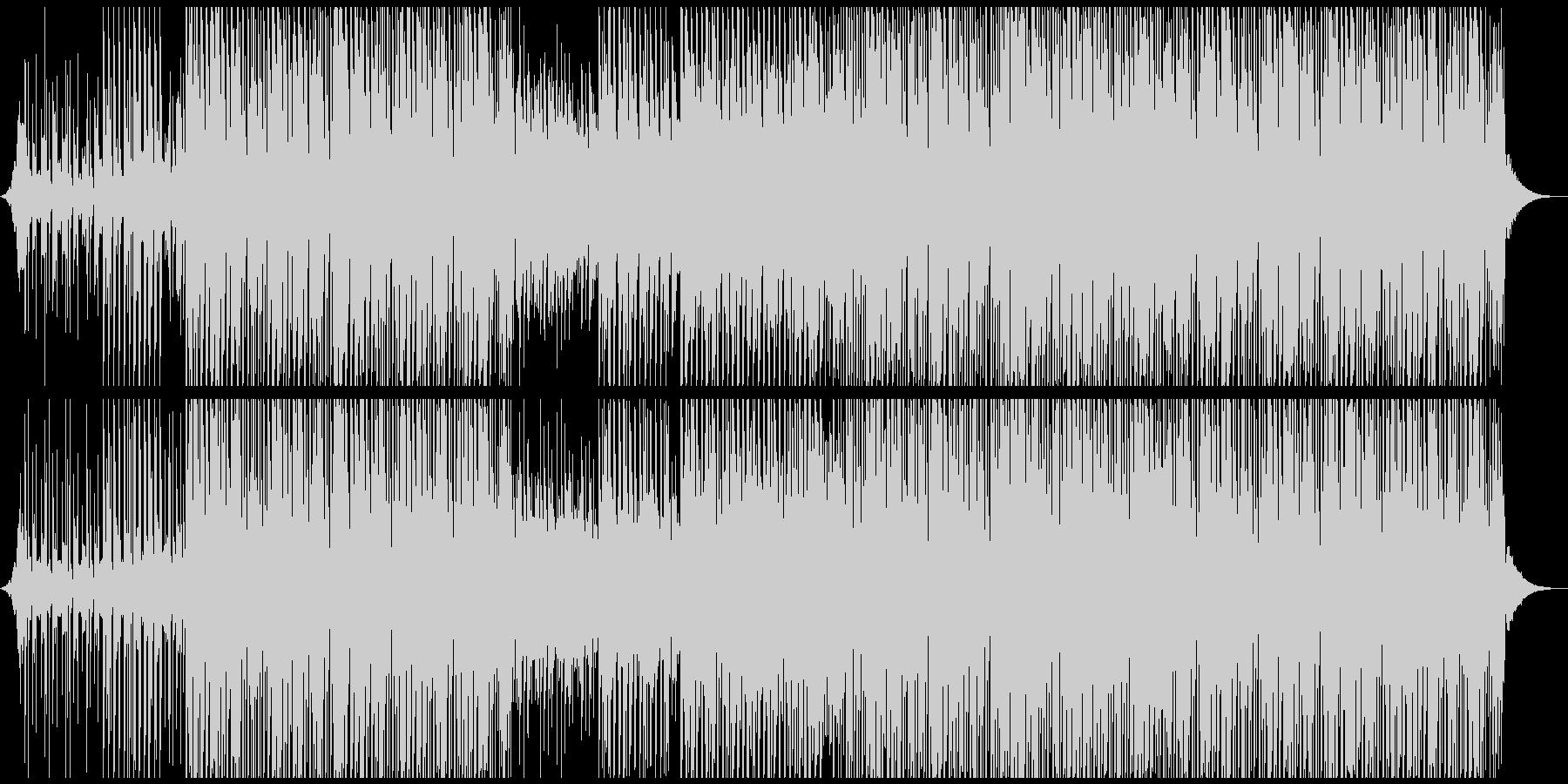 トロピカルポップの未再生の波形