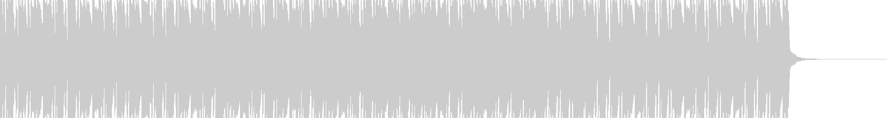 日常系 ゲームのBGM系の未再生の波形