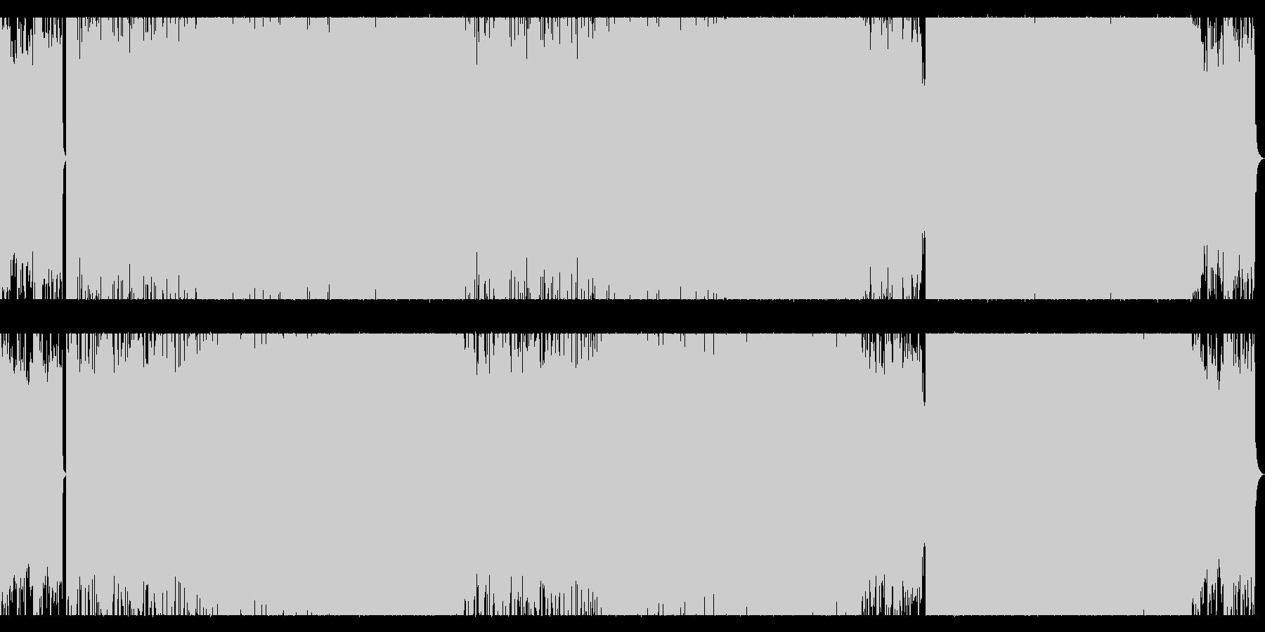 リラックスできるムーディーなチルトラックの未再生の波形