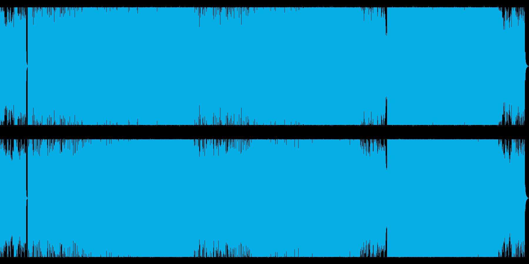 リラックスできるムーディーなチルトラックの再生済みの波形