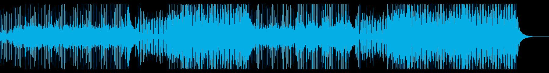 夏!リゾート・旅行CM、トロピカルハウスの再生済みの波形