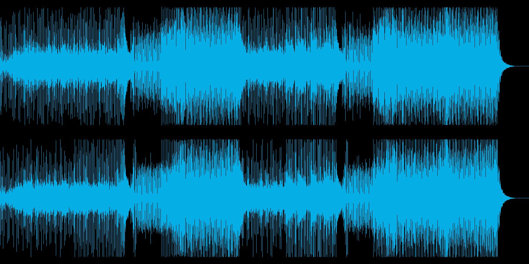 夏!爽やかなCM 洋楽系トロピカルハウスの再生済みの波形
