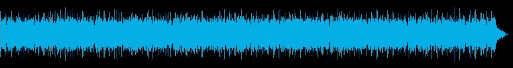幻想的なポップバラードの再生済みの波形