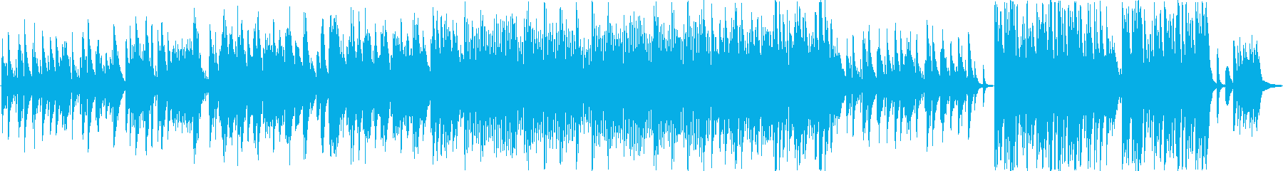 結婚式用ピアノ曲の再生済みの波形