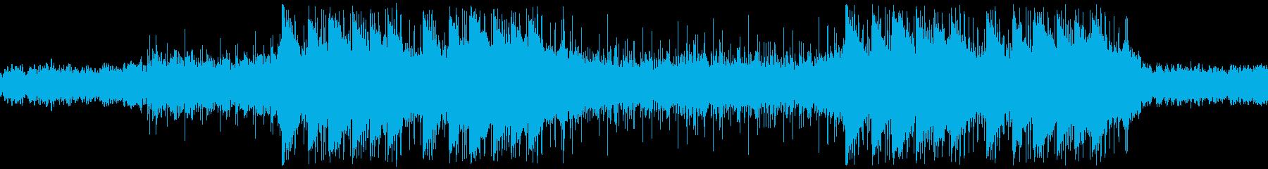 エレクトロニック 静か adver...の再生済みの波形