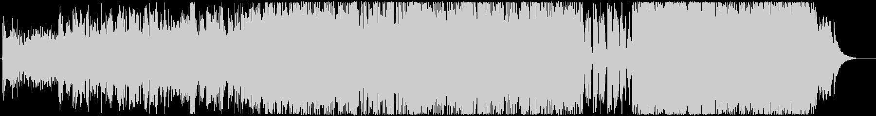 東京カモメの未再生の波形