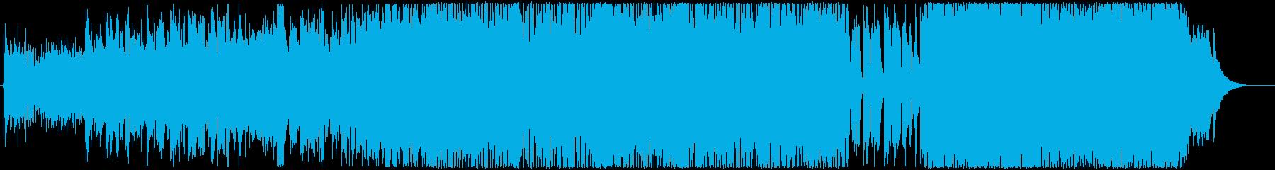 東京カモメの再生済みの波形