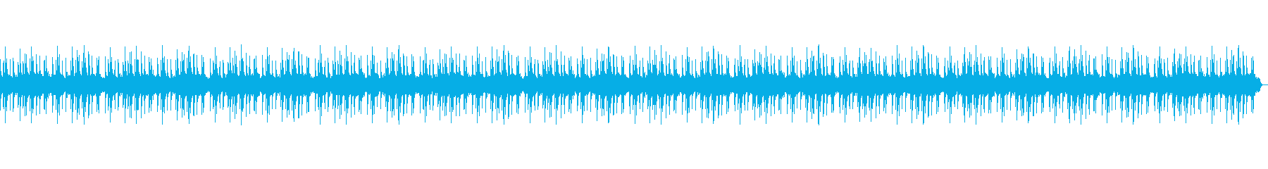 Japanese-style calm BGM such as product advertisement videos's reproduced waveform