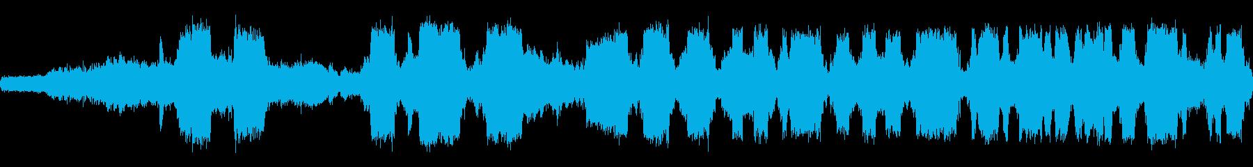 蒸気ホース:ヘビーヒス、さまざまな...の再生済みの波形