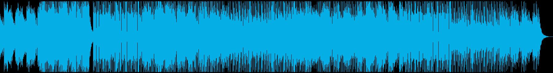 City感のあるEDMサウンドトラックでの再生済みの波形