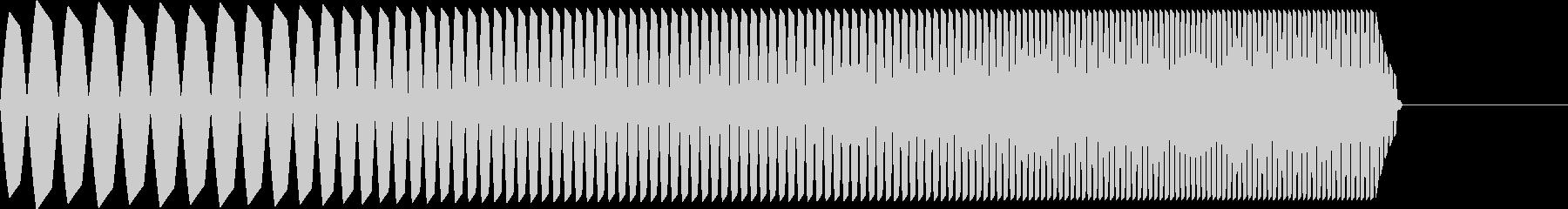 AMGアナログFX41の未再生の波形