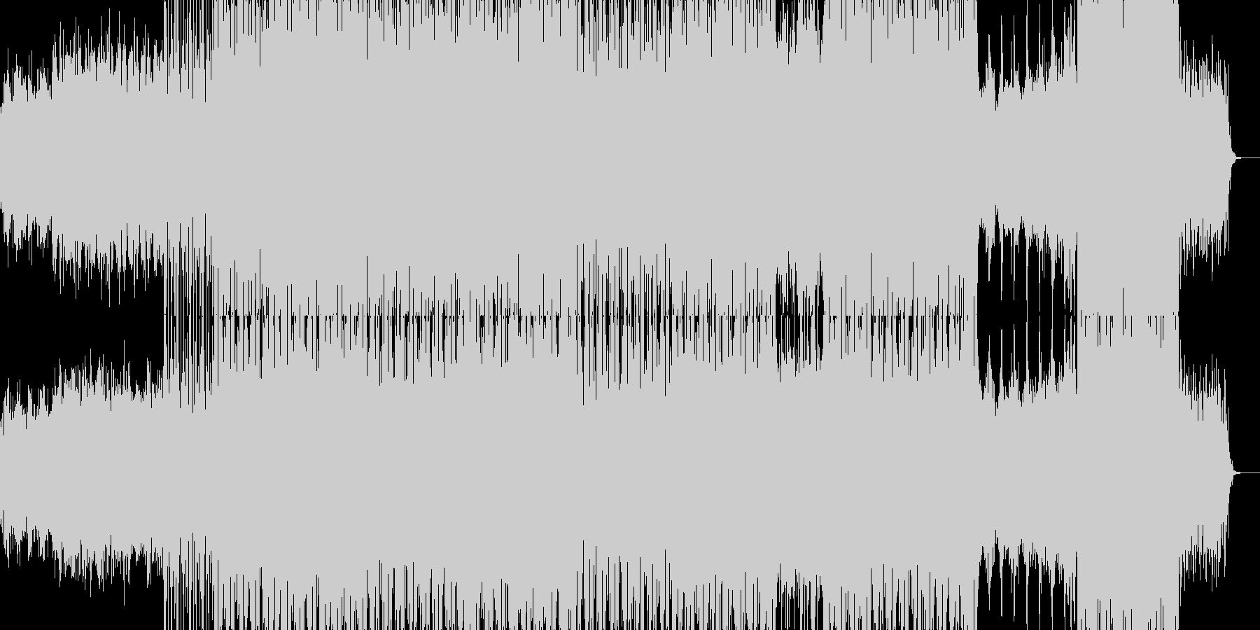 幻想的な雰囲気のRPGのサントラ風音楽の未再生の波形