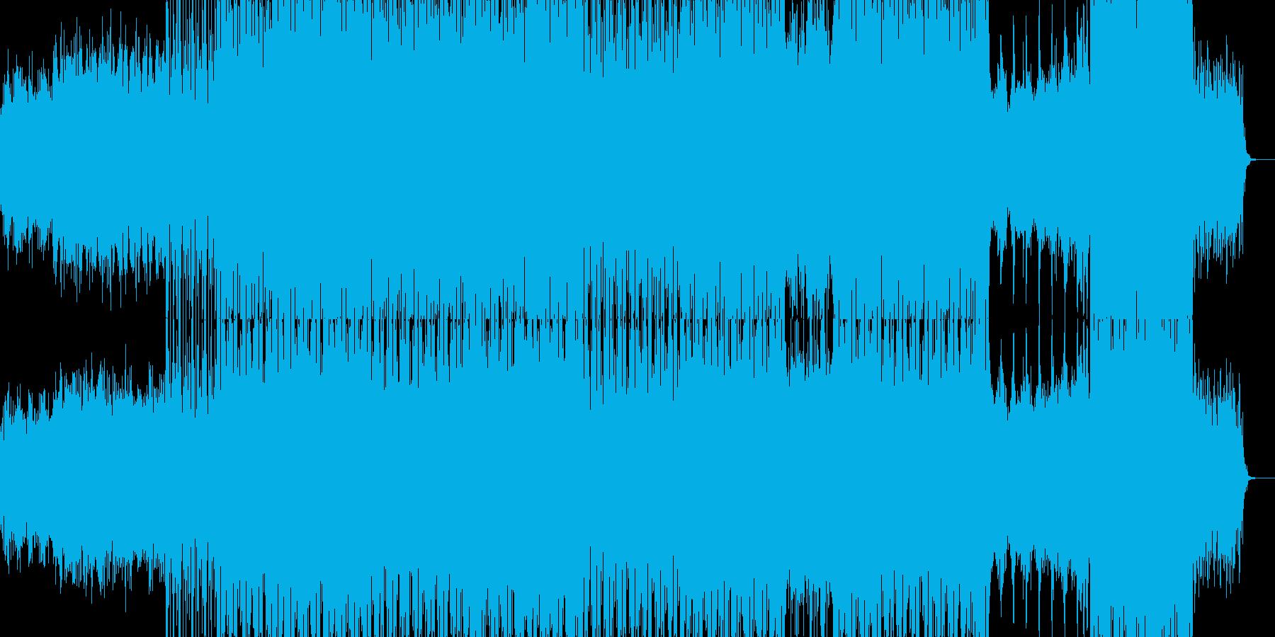 幻想的な雰囲気のRPGのサントラ風音楽の再生済みの波形