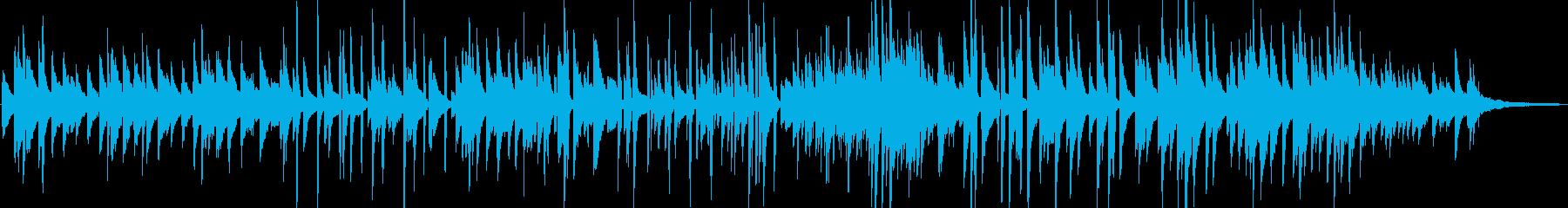 滑らかでソウルフルなピアノジャズの再生済みの波形