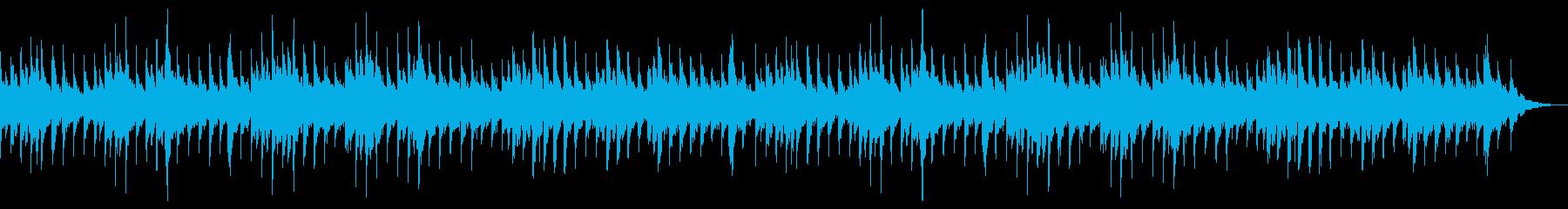 ジブリアニメ風_子供_メルヘン_無人島の再生済みの波形