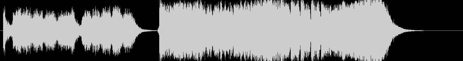 カルミナブラーナ風コーラス曲アップテンポの未再生の波形