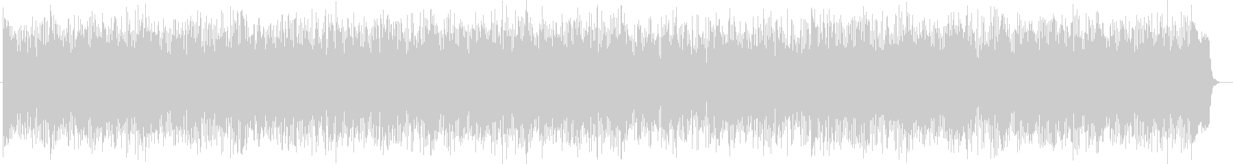 ミステリアスなシンセ・ドラムサウンドの未再生の波形