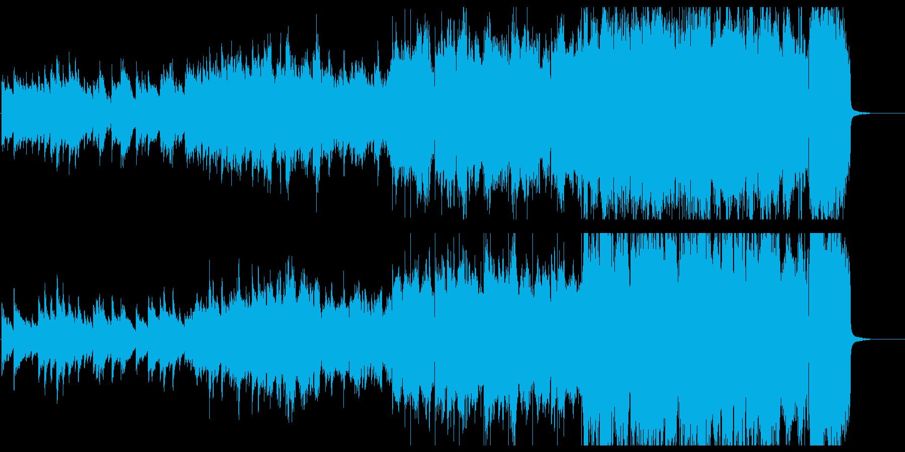 美しいメロディ部分だけをポップアレンジにの再生済みの波形