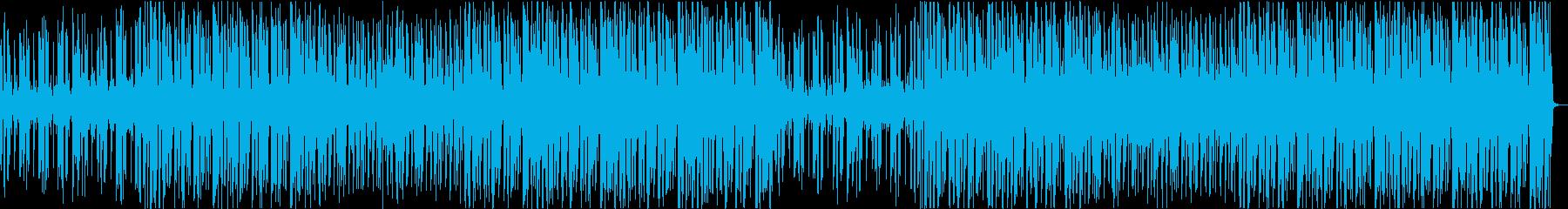 クールな雰囲気のファンクミュージックの再生済みの波形