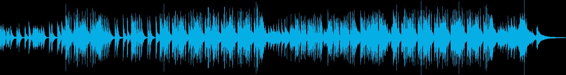 子供たちで面白い曲の再生済みの波形