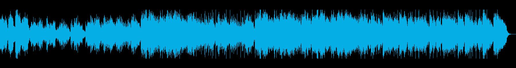 SAXが印象的なAORバラードの再生済みの波形