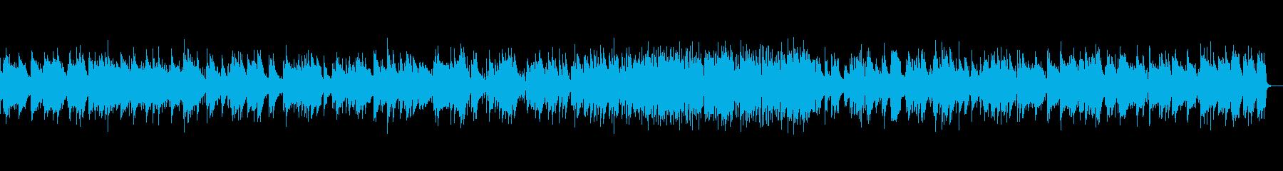 切ない感じのピアノトリオの再生済みの波形