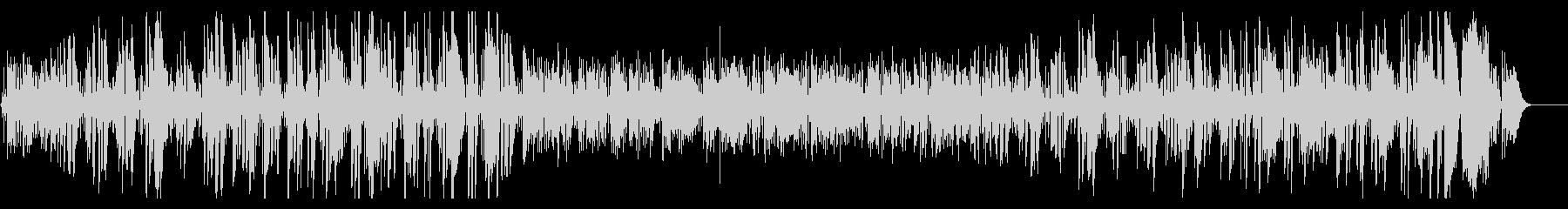 プロジャズ歌手のクリスマス曲ジングルベルの未再生の波形
