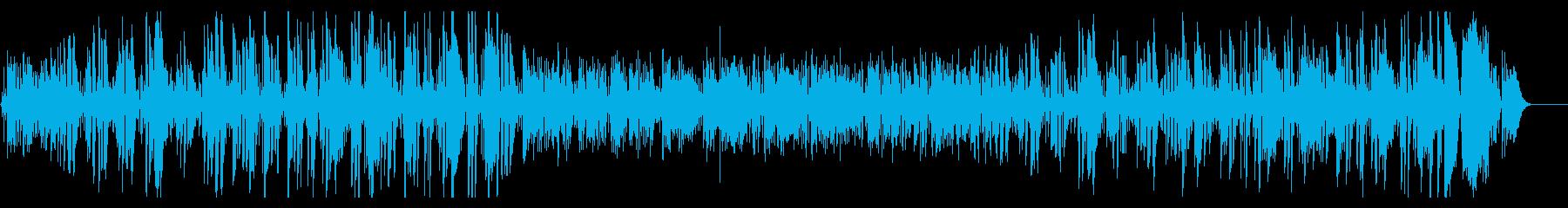 プロジャズ歌手のクリスマス曲ジングルベルの再生済みの波形