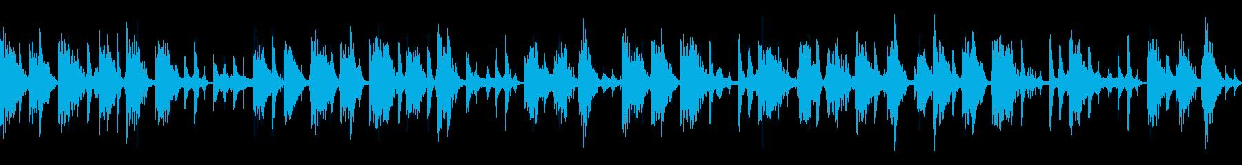 Jazzyなループ仕様楽曲の再生済みの波形
