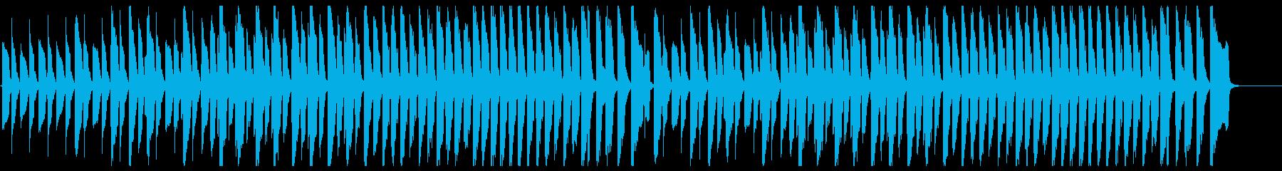 鉄琴とピアノの少しメルヘンな曲/控えめの再生済みの波形
