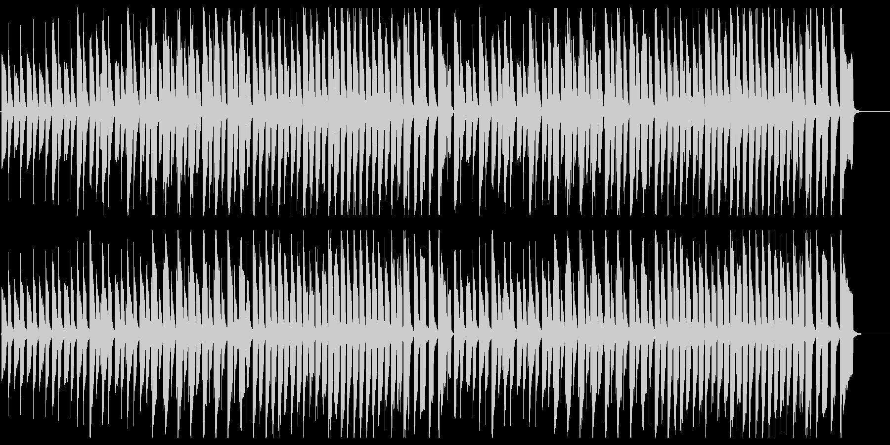 鉄琴とピアノの少しメルヘンな曲/控えめの未再生の波形