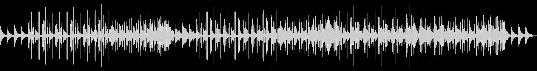 寂しげピアノのフレンチハウスポップスの未再生の波形