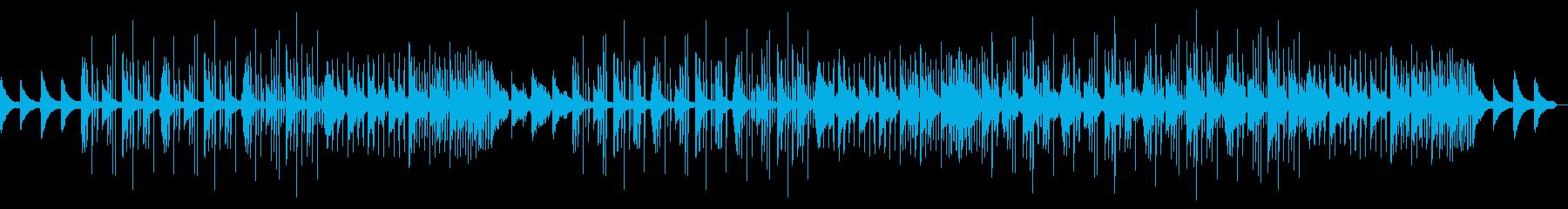 寂しげピアノのフレンチハウスポップスの再生済みの波形