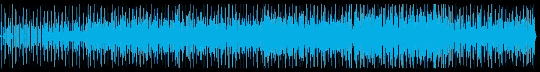 陽気でポップな80年代風シンセウェーブの再生済みの波形