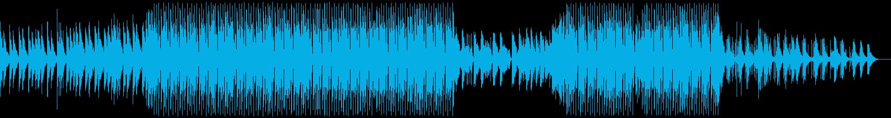 涼しい和風チルアウト系トロピカルハウスの再生済みの波形