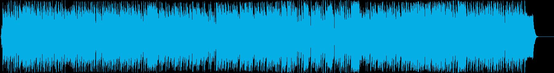 陽気感と哀愁感が対照的なアコーディオン曲の再生済みの波形